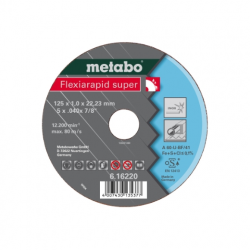 Metabo Flexiarapid super 125x1,0x22,23 Inox, TF 41