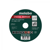 Metabo Special Edition 125 x 1,0 x 22,23 Inox, TF 41